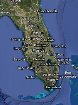 Orlando Is Situated Right In The Middle Of State Florida And Many First Time Visitors Are Surprised To Find That Closest Beach An