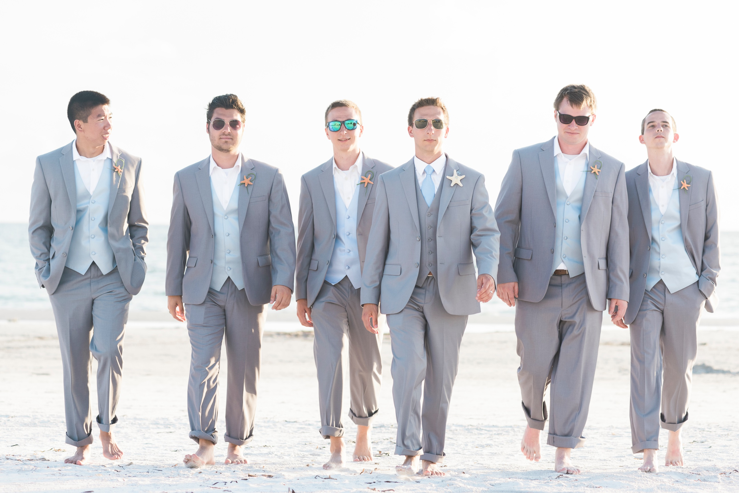 Simple Weddings » Looking (and keeping) Cool for your Beach Wedding