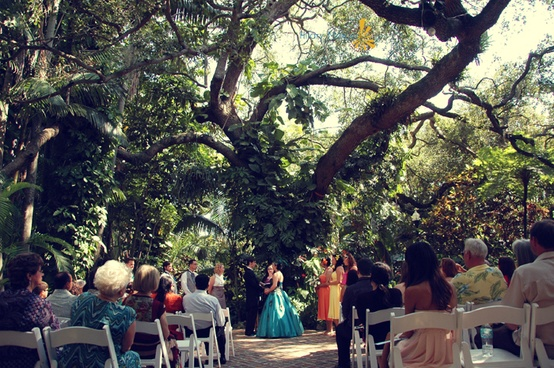Sunken Gardens Florida Weddings By Simple Weddings