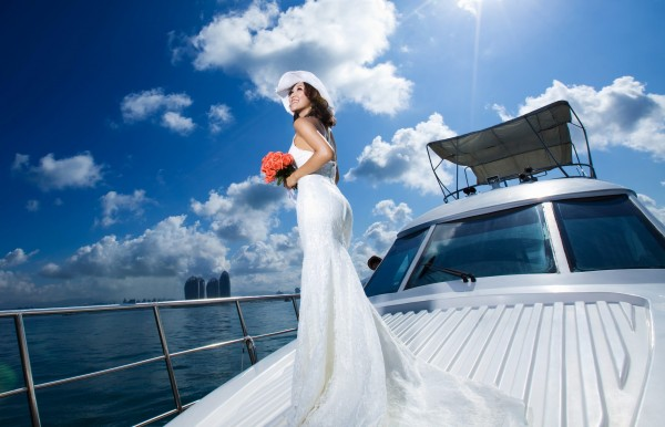 Yacht Weddings In St Petersburg Clearwater By Simple Weddings